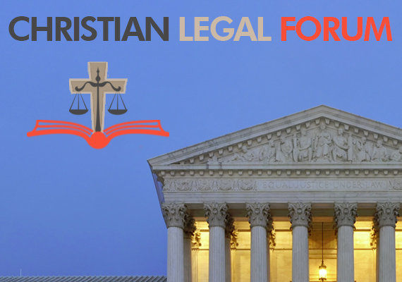 John helped found the Christian Legal Forum and they seek to use their education and abilities to provide answers to common legal questions, current events, and other legal issues that are of interest to fellow Christians. <a href='http://www.christianlegalforum.org'>Click here</a> for more information.